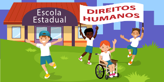 imagem curso A Educação e os Direitos Humanos