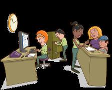 imagem de secretaria escolar