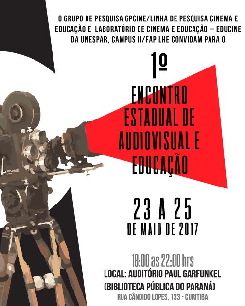 imagem sobre o primeiro encontro estadual de audiovisual e educação