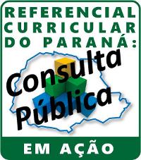 ícone consulta pública do Referencial Curricular do Paraná.