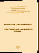 capa do caderno temático da diversidade Educação Escolar Quilombola