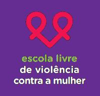 selo da campanha escola livre de violencia