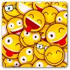 imagem contendo emoticons