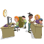 ícone documentação escolar