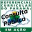 ícone consulta pública do referencial curricular do paraná em Ação