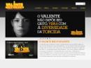 imagem do site O valente não é violento