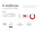 Imagem do infográfico A violência contra a mulher no Brasil
