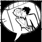 ícone problemas em quadrinhos coisas do coração