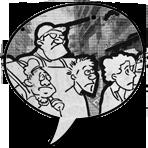 ícone problemas em quadrinhos comércio