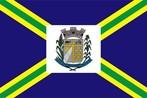 A Bandeira Municipal de Contenda é definida pelo Artigo 6.º da Lei Municipal n.º 189/1970, e é dividida em quartéis de azul, constituídos por quatro faixas amarelas carregadas de sobre-faixas verdes, dispostas duas a duas em banda e em barra e que partem dos vértices de um retângulo branco central onde é aplicado o Brasão Municipal.O estilo da Bandeira Municipal de Contenda, obedece à tradição heráldica portuguesa, da qual o Brasil herdou os cânones e regras, e entre os seus diversos estilos (oitavado, sextavado, esquartelado ou terciado), foi escolhido o esquartelado, isto é, o constituído por faixas que unem os cantos da bandeira e se entrecruzam ao centro, em cuja intercessão é aplicado o retângulo reservado para o brasão.O Brasão ao centro da bandeira simboliza o governo municipal e o retângulo onde aquele é aplicado, representa a própria cidade, sede do município. As faixas simbolizam o poder municipal que se expande a todos os quadrantes do território e os quartéis assim constituídos, representam as propriedades rurais existentes no território municipal.