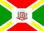 Através da Lei Municipal nº 354, de 11 de dezembro de 1.968, foi instituída a Bandeira do Município de Andirá. Também de autoria de Arcinoé Antonio Peixoto de Faria, é dividida em setores, sendo os quartéis em cores alternadas de verde e vermelho. A cor verde é dos quartéis da tralha e posta, e o vermelho dos quartéis dos lados maiores do retângulo. Os quartéis são constituídos de faixas amarelas, dispostas duas a duas, em banda e em barra, e que partem dos vértices de um retângulo branco central, onde o Brasão de Armas da cidade é aplicado. A reprodução da Bandeira do Município obedece aos mesmos módulos oficiais da Bandeira Nacional.