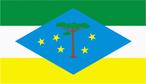 As cores oficiais são: branco, azul celeste, verde folha e amarelo, conforme a Lei Municipal nº. 09/95, de 11/05/1995.