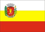 A Bandeira Maringaense é formada por três faixas horizontais: Branca, Amarela e Vermelha. • A 1ª faixa, em branco, simboliza a paz. • A 2ª faixa, em amarelo representa a força. • A 3ª faixa, em vermelho, simboliza a coragem. • E também está composta por uma figura o Brasão de Armas.