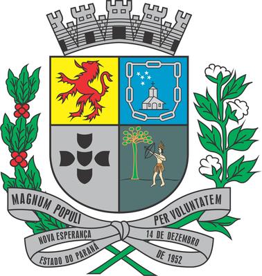Brasão do município de Nova Esperança-PR