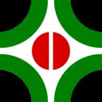 O Brasão de Cambé é de autoria do cambeense Evertone Sola. Foi escolhido através da realização de concurso ocorrido em 1967, por ocasião do vigésimo aniversário da emancipação política de Cambé, e foi oficializado, juntamente com a bandeira, pela lei nº 26, de 3 de outubro de 1967.  O brasão é composto por arcos de círculos, na cor verde que se desenvolvem através da figura central, um grão de café estilizado, na cor vermelha, e vazam o espaço sem limitar o desenho, simbolizando assim as demais riquezas do município, em constante evolução, abrindo caminho para o progresso definitivo em todas as direções. O fundo branco, cor neutra, completa o conjunto.